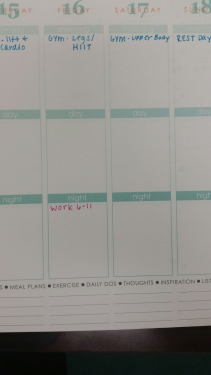 My Erin Condren planner contains my whole life!